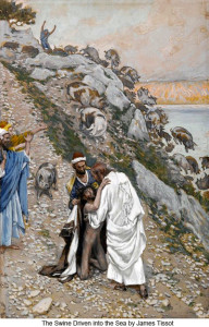 James_Tissot_The_swine_driven_into_the_sea_400