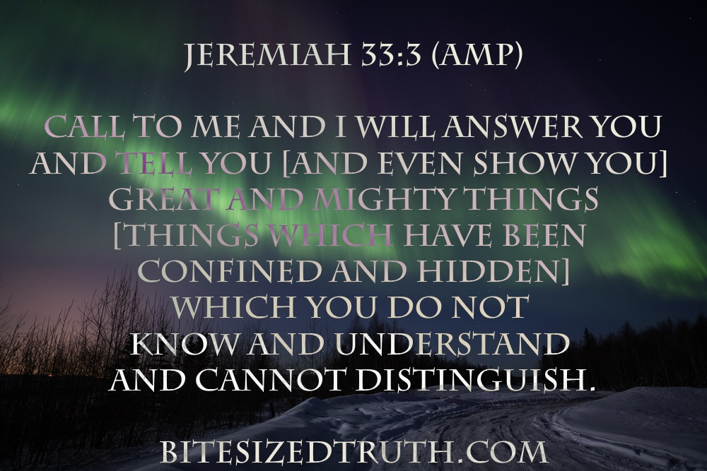 Jeremiah 33-3 BST