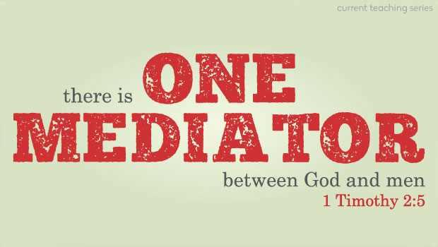 One mediator. Exactly, ONE.