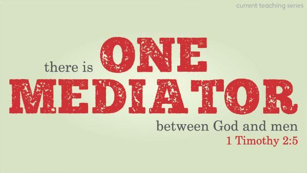 One mediator. Exactly, ONE.